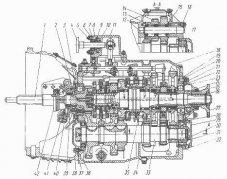 Детали коробки переключения передач грузовых автомобилей Камаз-5320