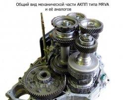 УСТРОЙСТВО АКПП HONDA CR-V второго поколения